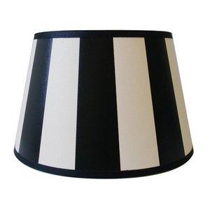 Light & Living Lampenkap 35 cm Drum KING Zwart