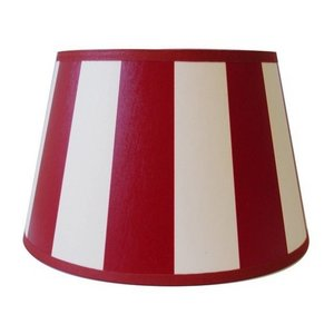 Light & Living Lampenkap 20 cm Drum KING Rood