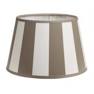Light & Living Lampenkap 30 cm Drum KING Taupe