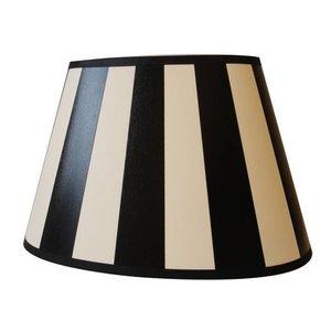 Light & Living Lampenkap 25 cm Ovaal KING Zwart
