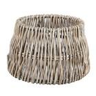 Light & Living Lampenkap 30 cm Drum ROTAN Vertical Weaving Grijs