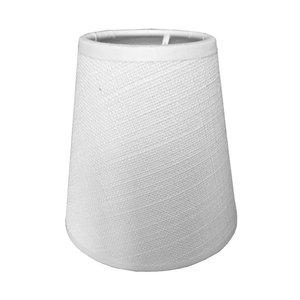 RamLux Lampenschirm Klemme 11 cm SAMI weiß