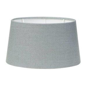 Light & Living Lampenschirm 30 cm Oval LIVIGNO Eisblau