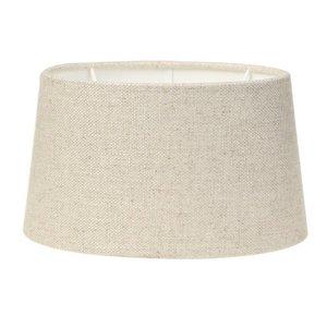 Light & Living Lampenschirm 25 cm Oval LIVIGNO Naturel