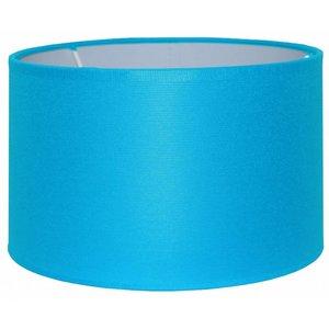 RamLux Lampenschirm 25 cm Zylinder CHINTZ Aqua Blau
