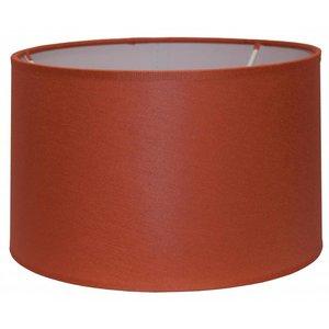 RamLux Lampenschirm 50 cm Zylinder CHINTZ Terrakotta