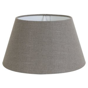 Light & Living Lampenschirm 30 cm Konisch LIVIGNO Leber