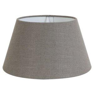 Light & Living Lampenschirm 50 cm Konisch LIVIGNO Leber