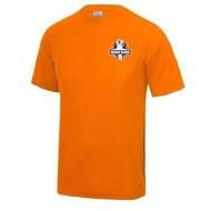 Oranje Blauw'15 inloopshirt inclusief logo junior