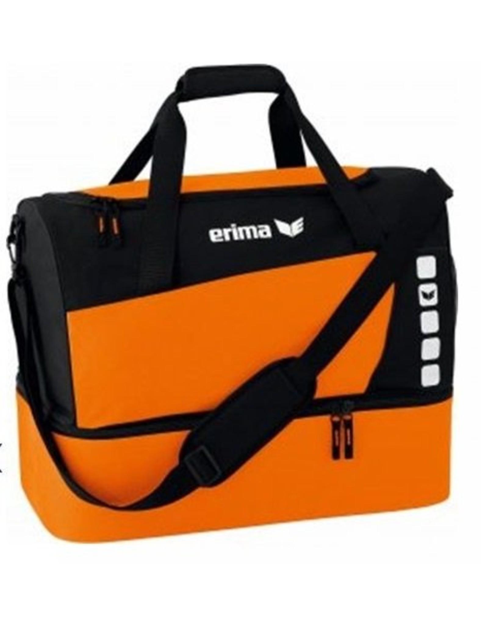Erima Oranje Blauw'15 sporttas met vak