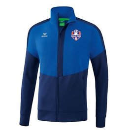 Erima Oranje Blauw'15 HEREN trainings jack incl. clublogo