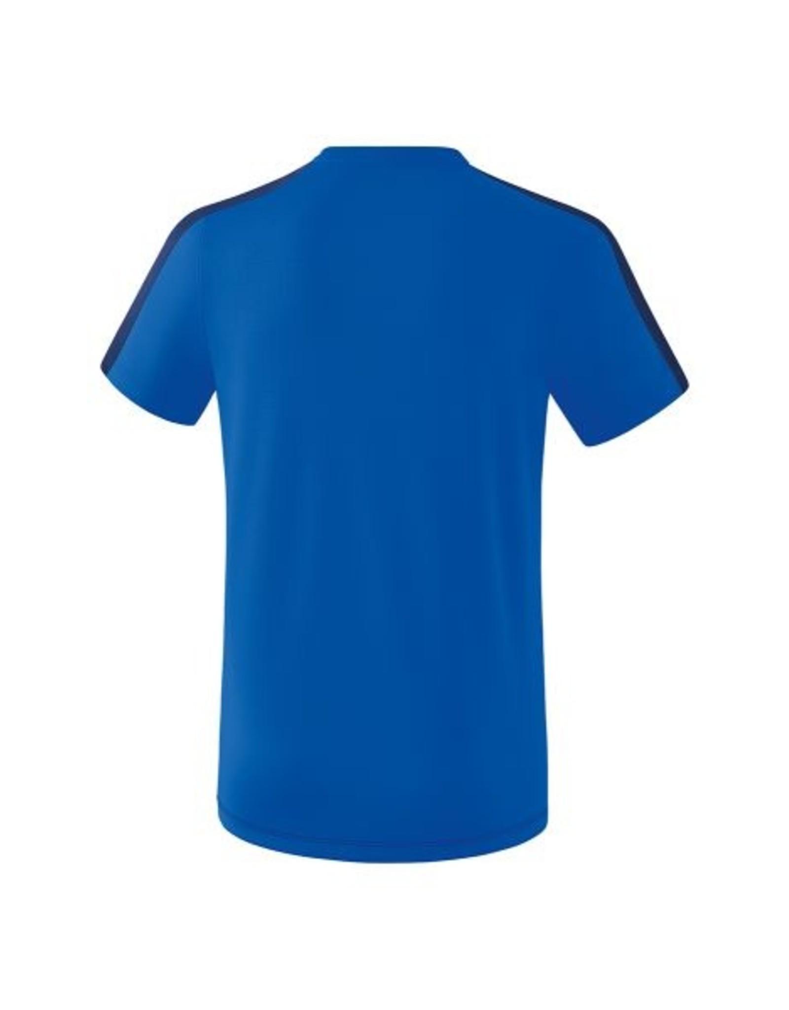 Erima Oranje blauw'15 heren trainings shirt  inclusief clublogo