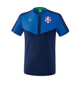 Erima Oranje blauw'15 junior trainings shirt inclusief clublogo