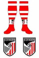 KSV Horn Logo wedstrijdkousen