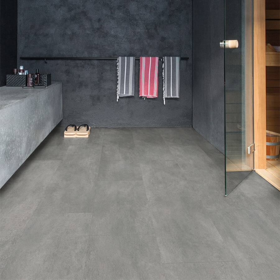 Quick step  Ambient Click AMCL40051 Beton donkergrijs