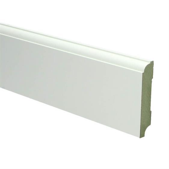MDF Plint Klassiek 70x15 mm RAL9010