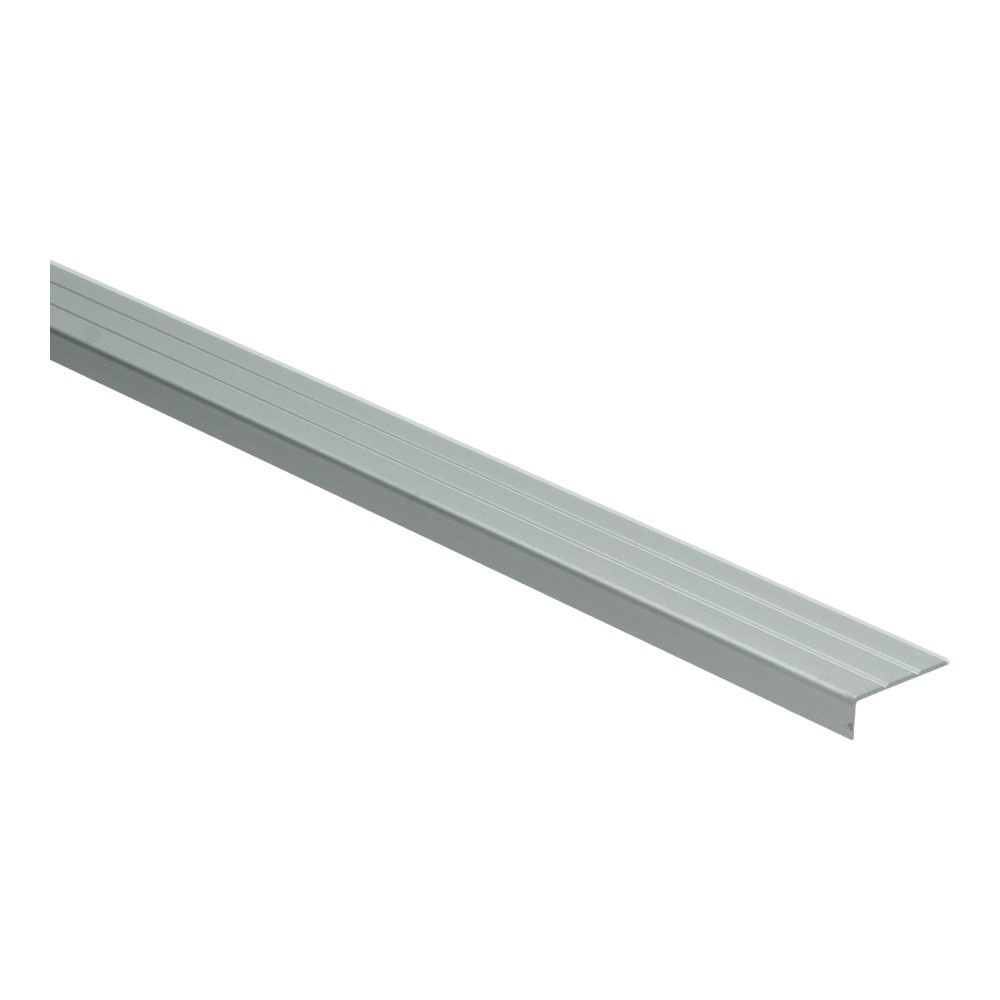 Hoeklijnprofiel zelfkl. 10 mm zilver 1 MTR