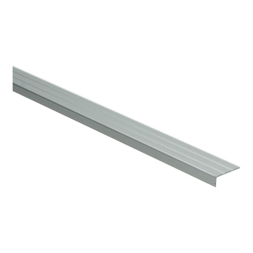 Hoeklijnprofiel zelfkl. 10 mm zilver 3 MTR