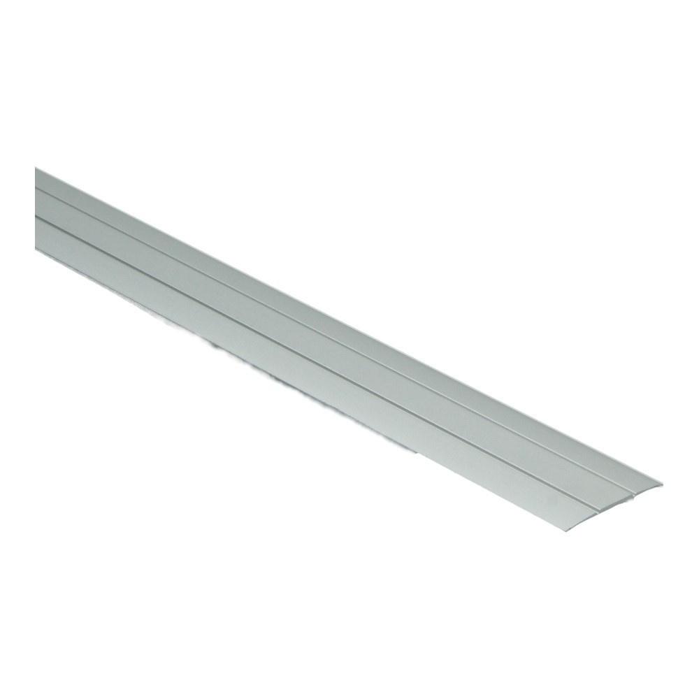 Dilatatieprof  zelfkl. 37 mm alu zilver 2.7 MTR