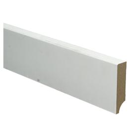 BL MDF plint 70x15 wit gegrond recht