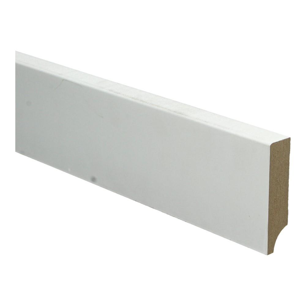 BL MDF plint 70x15 V313 wit gegrond recht