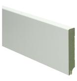 MDF Moderne plint 90x15 wit  uitsparing