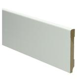 MDF Moderne plint 90x12 wit voorgelakt RAL 9010