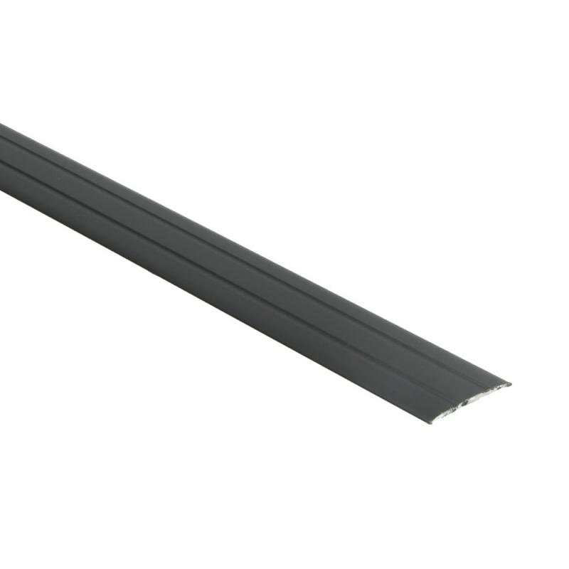 Dilatatieprof. zelfkl. 37 mm alu zwart