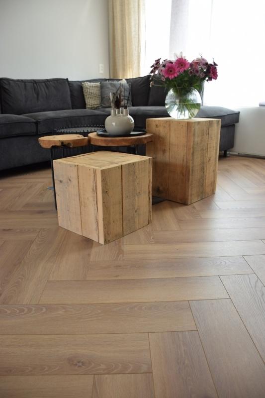 Tree Floor Visgraat  Roble Naturel ICV518