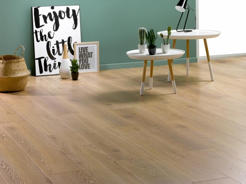 Tree Floor Solid Roble Naturel ICS-518