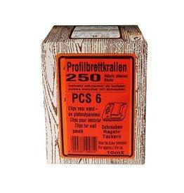 Clips PCS6 - inclusief schroeven