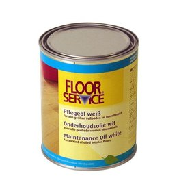Floorservice Color onderhoudsolie-WIT 1000ml