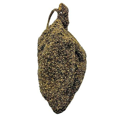 Droge ham omhuld met zwarte peper