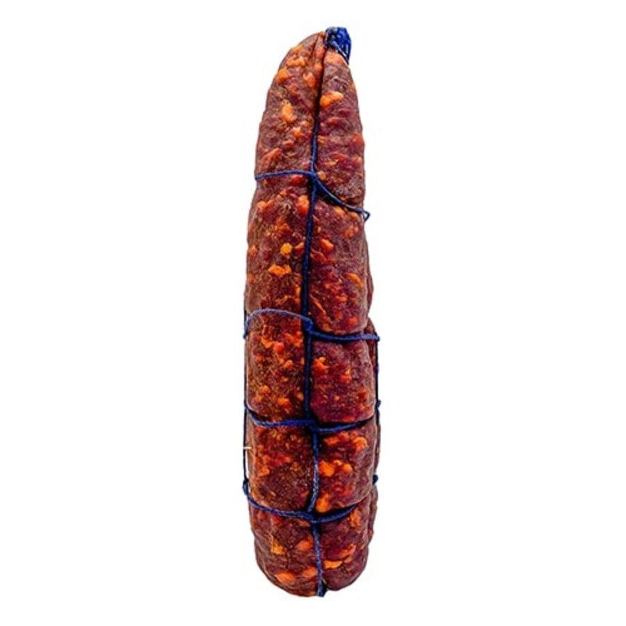 Grote droge worst Piment d' Espelette