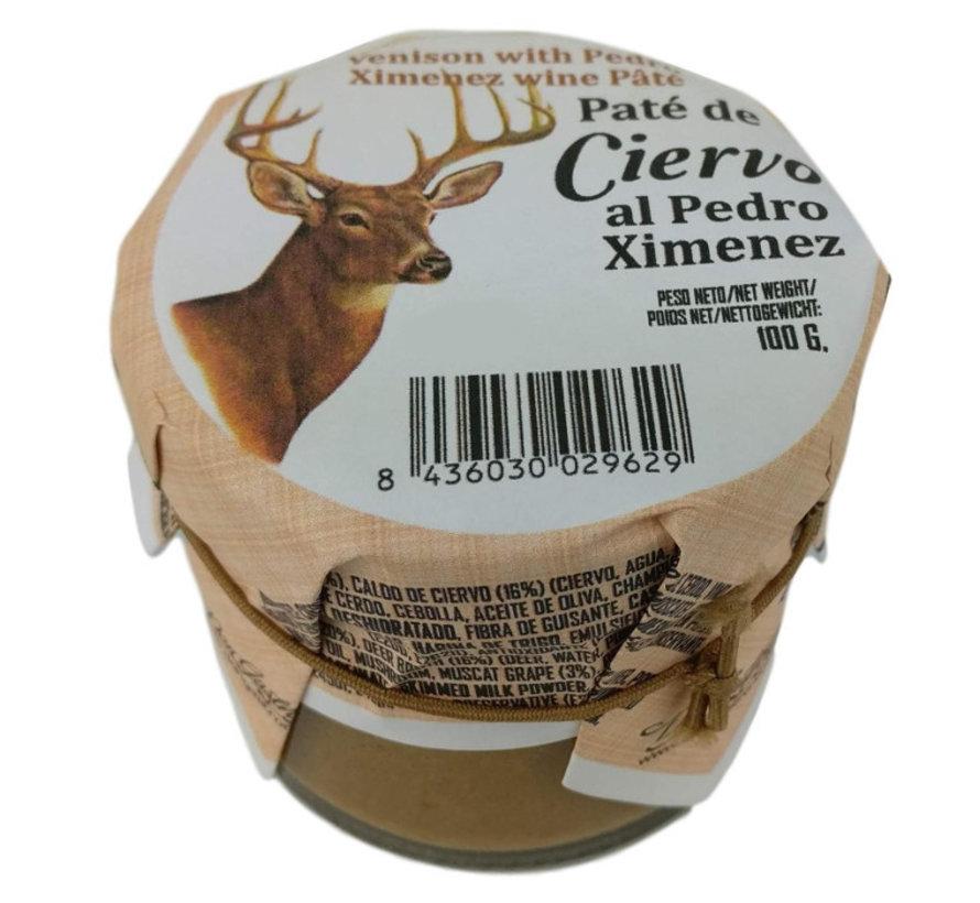 Spaanse paté van hert en PX wijn