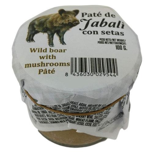 Spaanse Wildzwijnpaté met paddestoelen