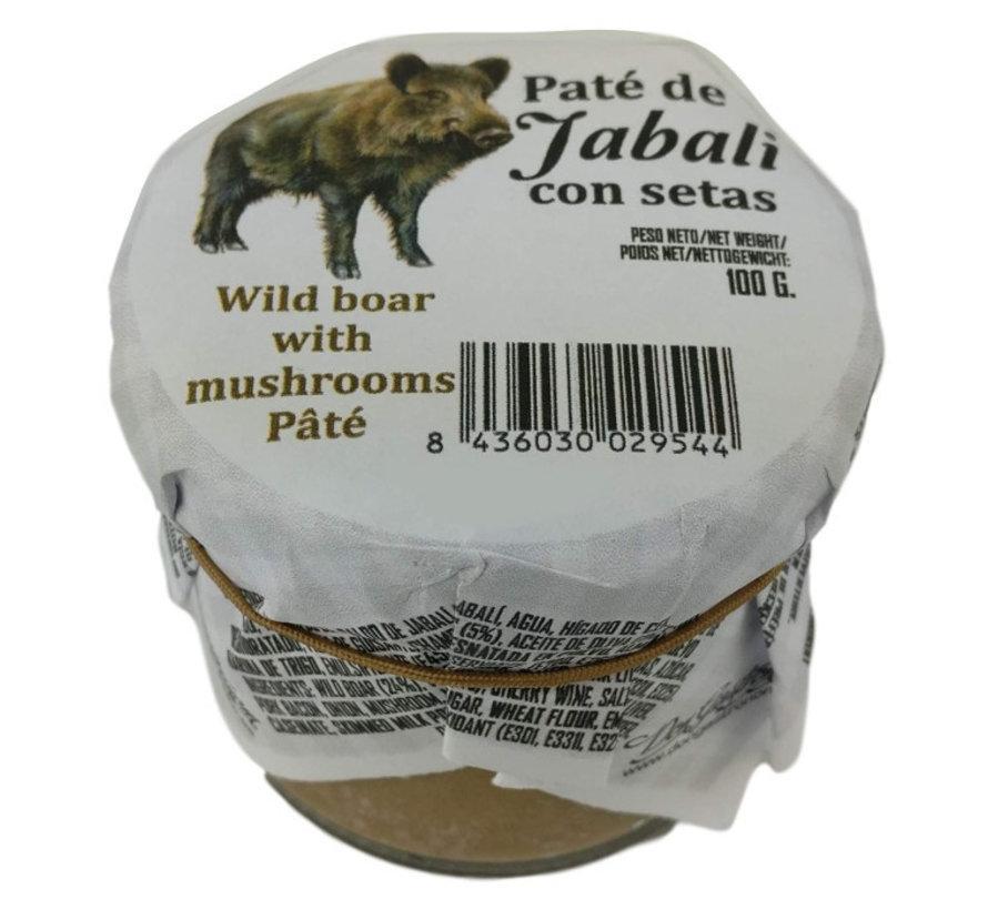 Spaanse paté van Wildzwijn en paddenstoelen