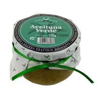 Tapenade van groene olijven