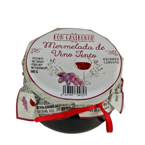 Rode wijn marmelade