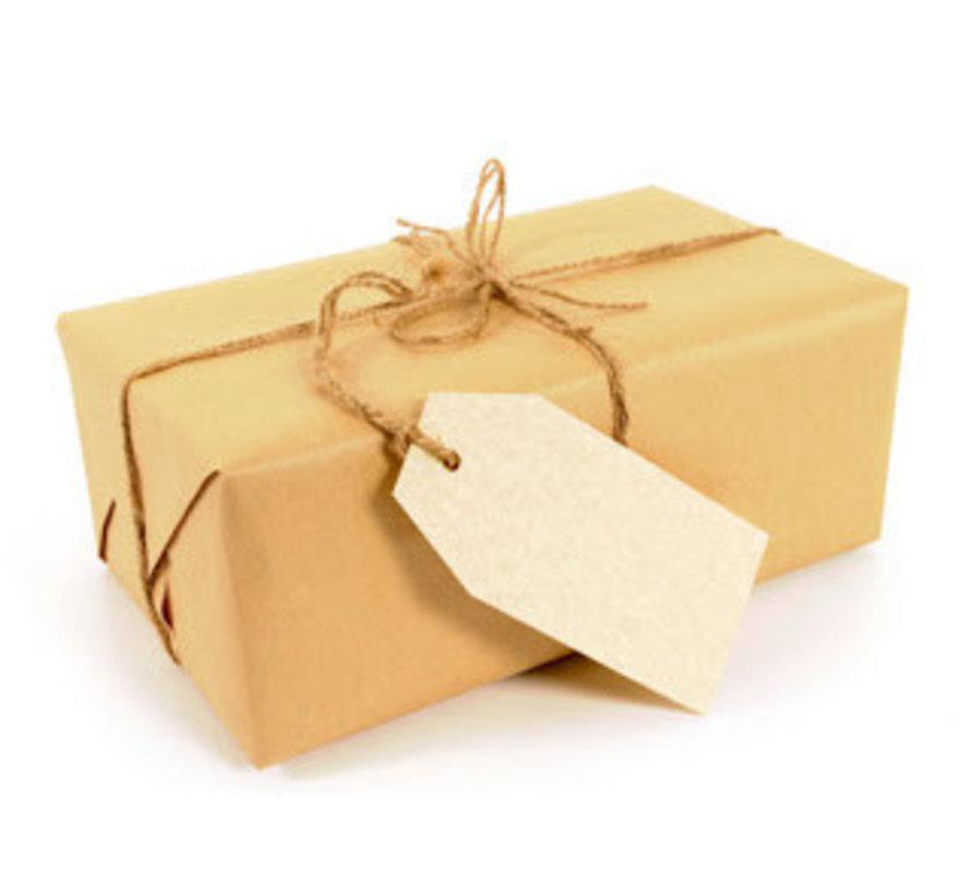 Een proefpakket met alleen verpakte producten