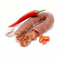 Gedroogde worst Chorizo