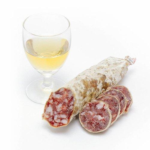 Droge worst van fazant met cognac