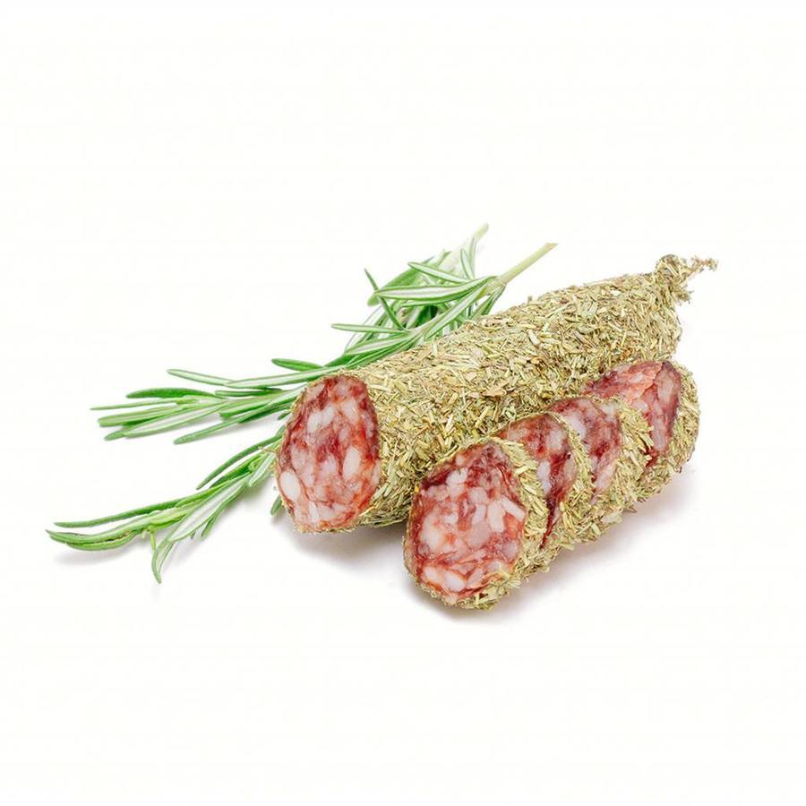 Gedroogde worst met Provençaalse kruiden