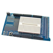 Prototype Shield Mega with mini Breadboard