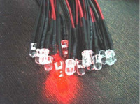 3mm Pre Wired Led Helder Rood