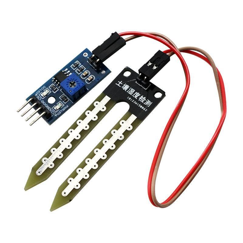 Bodemvochtigheids sensor op basis van de LM393 chip