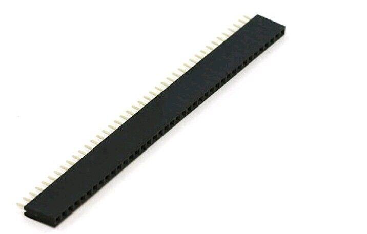 Header Female 1x40 pins