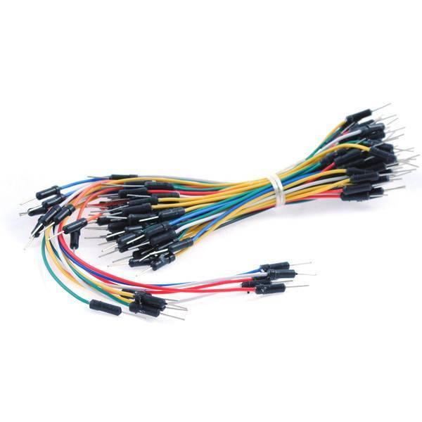 75pcs Flexible Breadboard Jumper Wires
