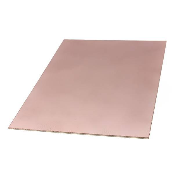doubleSide 15x20cm 1,5MM FR4 Glass fiber Blank Copper Clad Printed Circuit Board