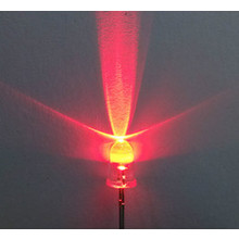 5mm Led Red Clear (Flash)